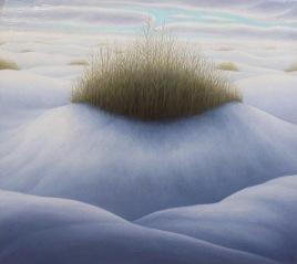 """Mid-Winterr, oil on wood, 9"""" x 11"""", 2004."""