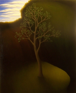 """Untitled, oil on wood, 12"""" x 10"""", 2008."""