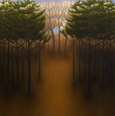 """South Side, oil on wood, 12"""" x 12"""", 2006."""