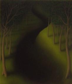 """Untitled, oil on wood, 16"""" x 14"""""""