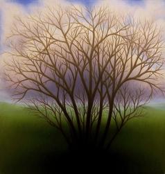 """Untitled, oil on wood, 10"""" x 10"""""""