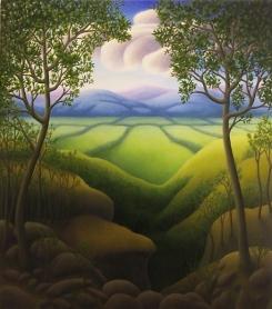 """Untitled, oil on wood, 14"""" x 12"""""""